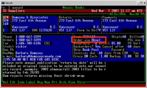 BookManager EDI 3
